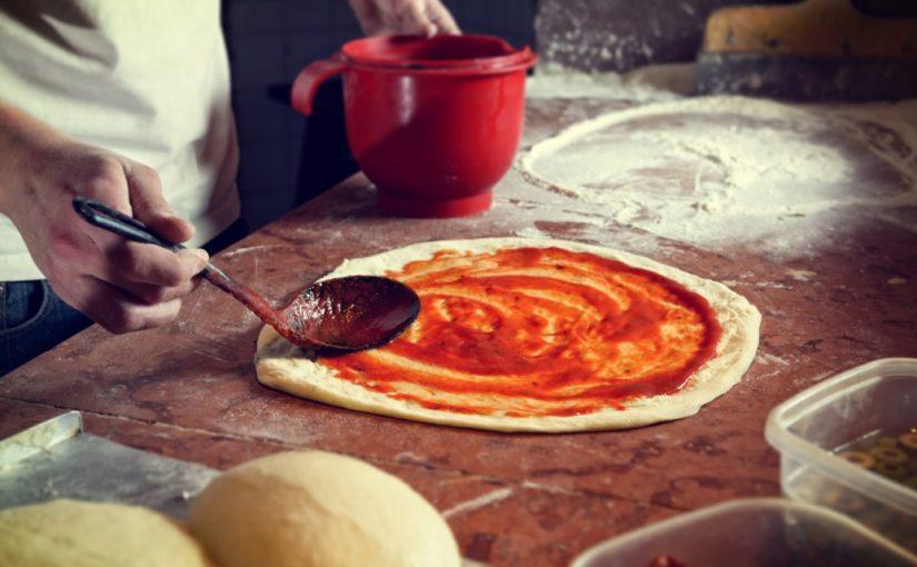 ciasto na pizze przechowywanie